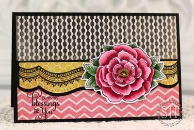 Celebration Floral Bday Sharon Harnist
