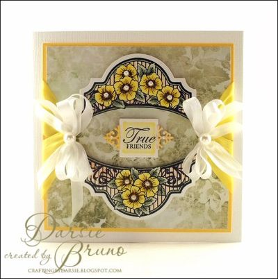 True Friends Card by Darise Bruno