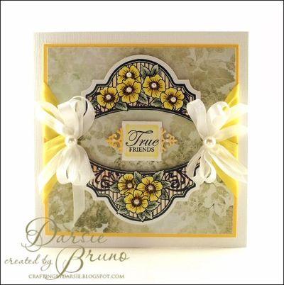 True Friends Card by Darise Bruno