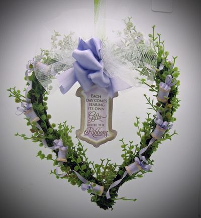 Barb's Wreath Photo One