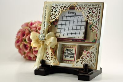 Becca's Shadow Box Calendar KIT032012008