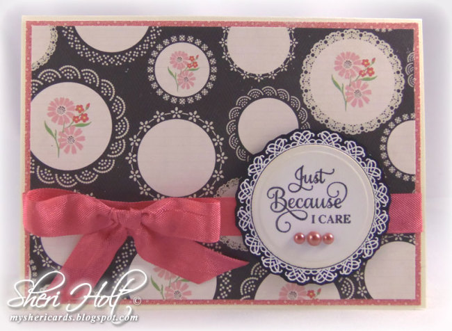 Just Because Card Sheri Holt