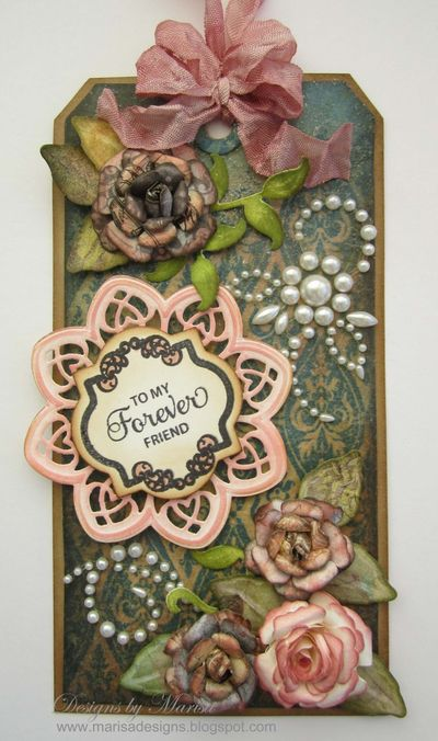 Marisa Antique Valentine Tags