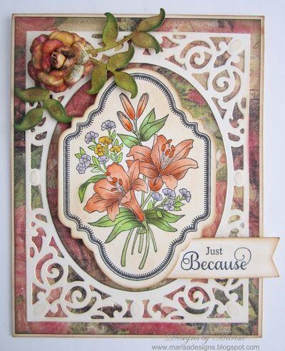 Marisa Job Floral Vintage Labels