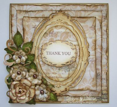 Marisa Job Floral Thank You