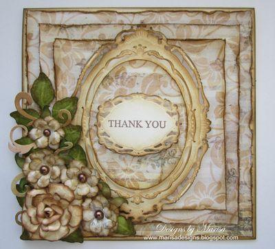 Marisa Job Floral Thank You
