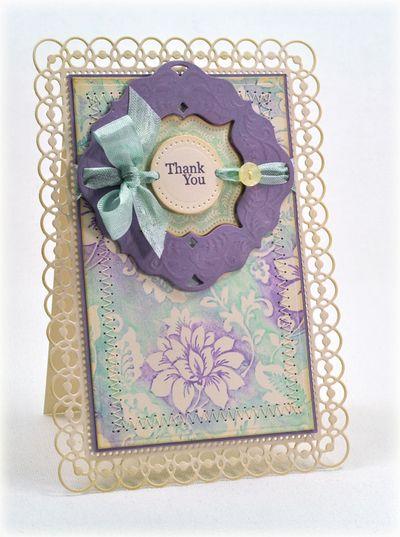 Secret Garden Background Stamp Debbie Olson