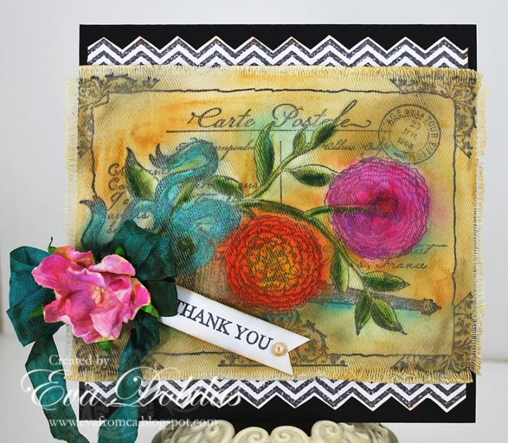 Thank you card Eva Dobilas