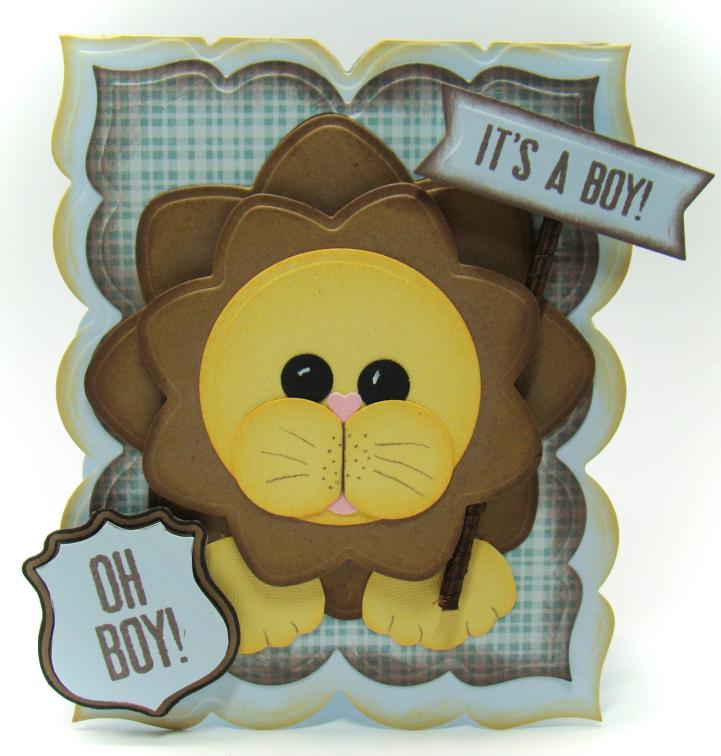 Angela Barkhouse - All Boy card