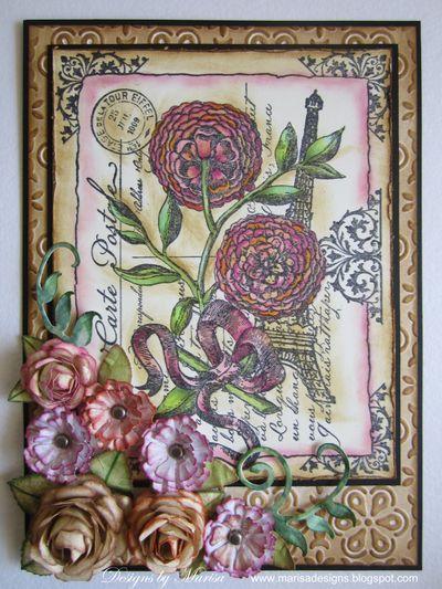 Botanical Postcards Marisa