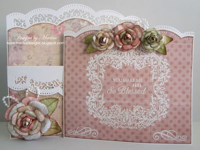 Marisa Job Mix and Match Sentiments and Filigree Journals -inside view