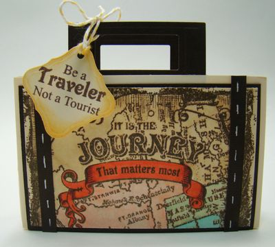 Angela Barkhouse Journey Suitcase