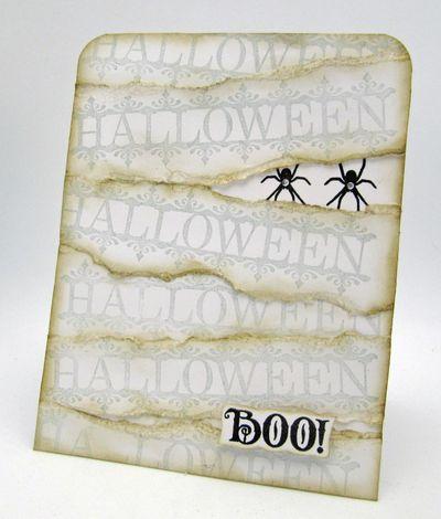 Barb Schram Mummy Card