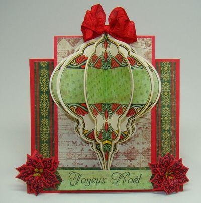 Angela Christmas Step Card