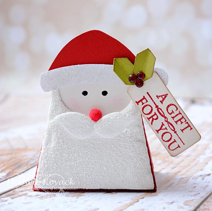 Michele Kovack santa box
