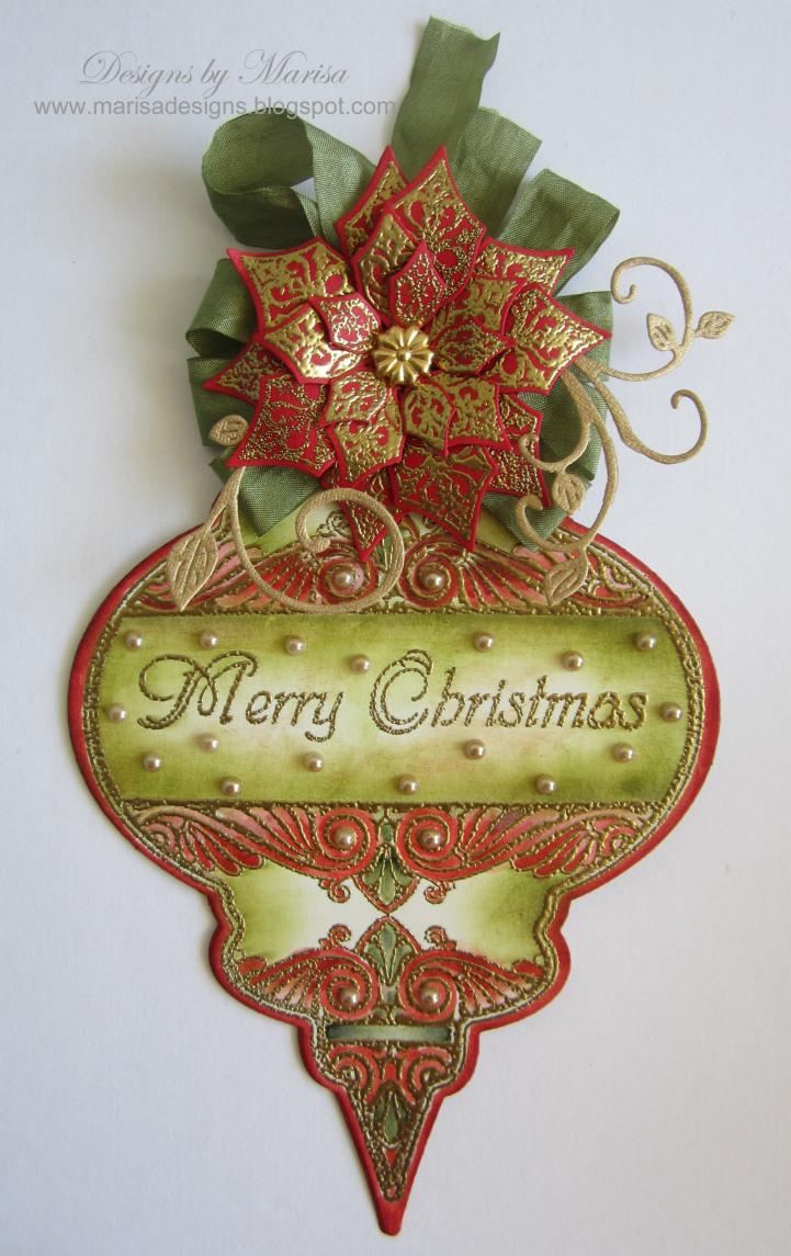 Marisa Heritage Christmas Ornament