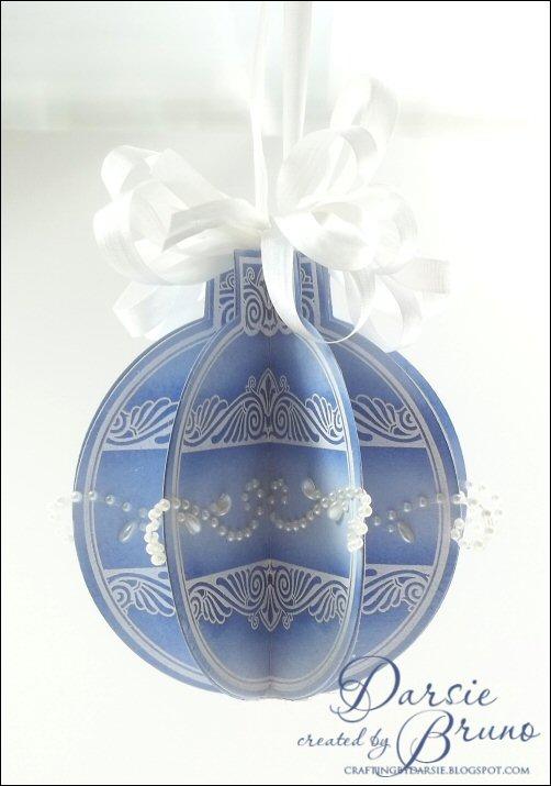 3-D Heritage Christma Ornaments - Darise