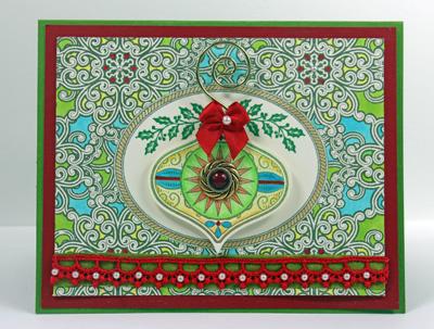Kellie Fortin Vintage Christmas Ornaments