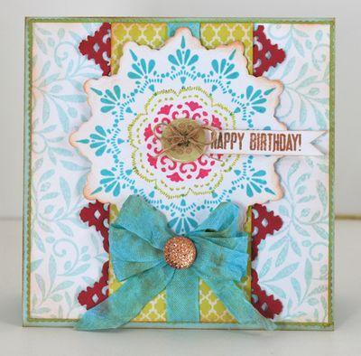 Happy Birthday Card Eva