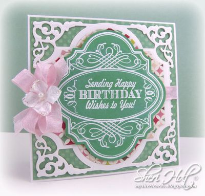 Sheri Holt Birthday Vintage Labels Four