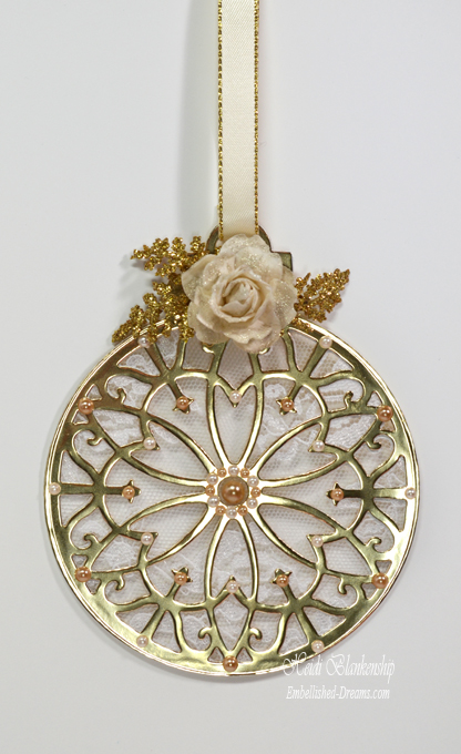 Lacey Tiers Ornament Heidi Blankenship