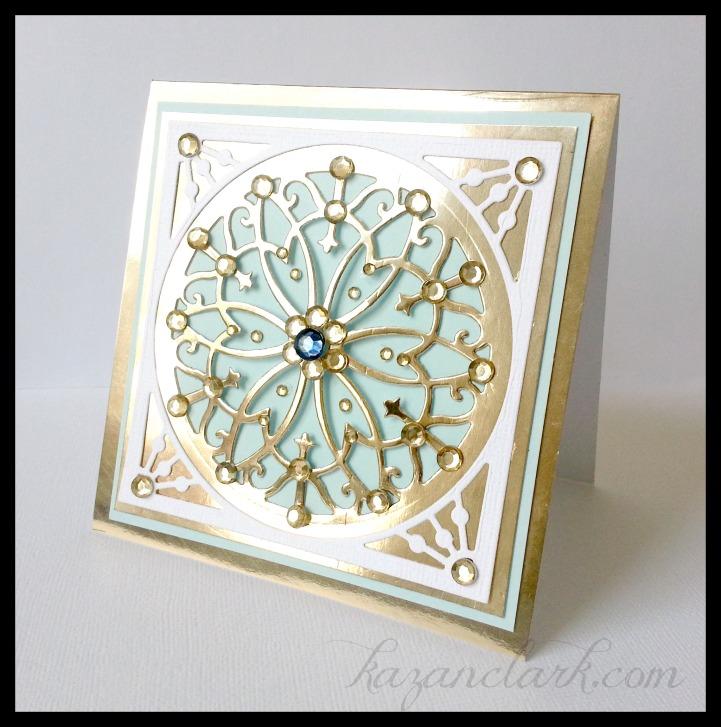 Lacey Tier Faberge Card Kazan Clark
