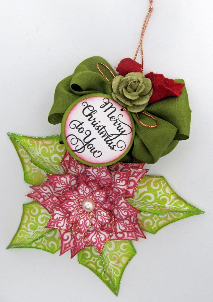 Barb Schram Festive Poinsettia