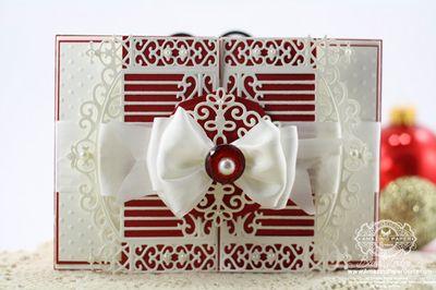 Becca Feeken Gate Fold Card - Christmas Inner Thoughts