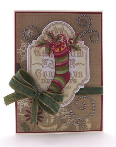 Sheri Holt Christmas Vintage Labels Two