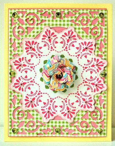 Dainty Doilies Card by Margie Higuchi
