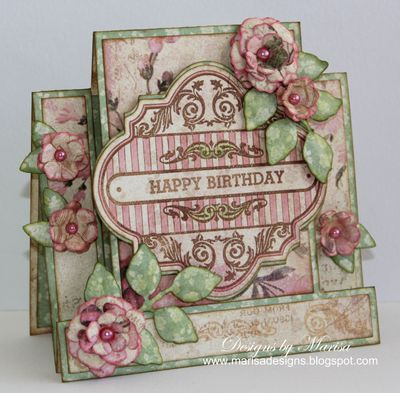Celebrate Today Vintage Labels Four - Marisa Job