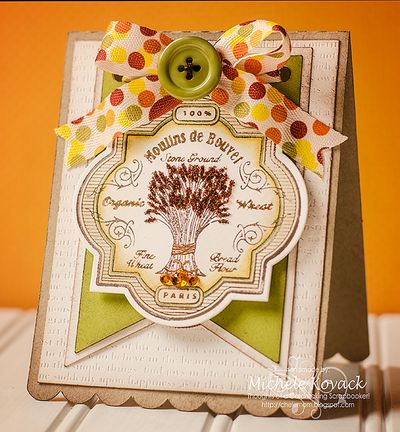 Autumn Vintage Labels Three Michele Kovack