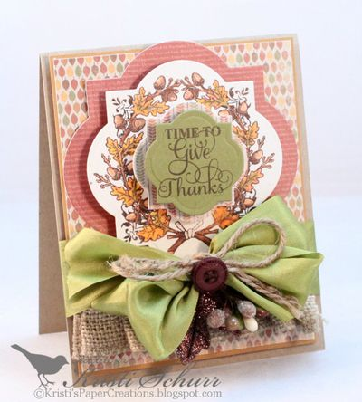 Autumn Vintage Labels Three Kristi Schurr