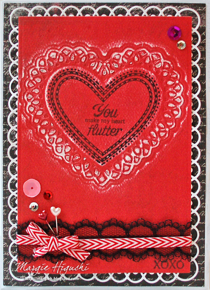 Sweet Hearts Clear Stamps Margie Higuchi