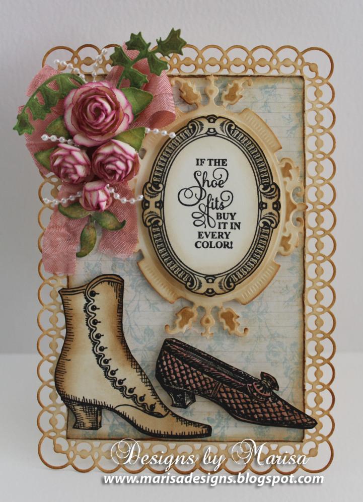 Marisa Job Shoes Vintage Labels Six