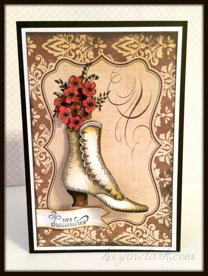 Kazan Clark Vintage Shoes Labels Six