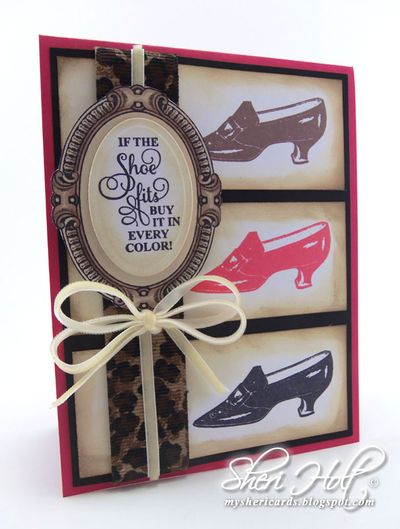 Shoes Vintage Labels Six Sheri Holt