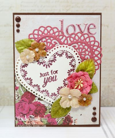 Sweet Hearts Clear Stamps Heidi Blankenship1