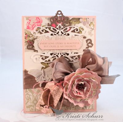 Elegant Celebrations Heirloom Flourish One Die Kristi Schurr