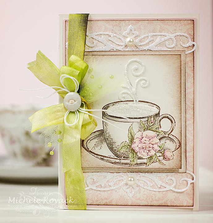 Coffeecupandtulip damask Michele Kovack
