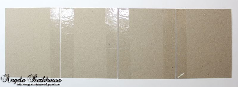 Chipboard-taped