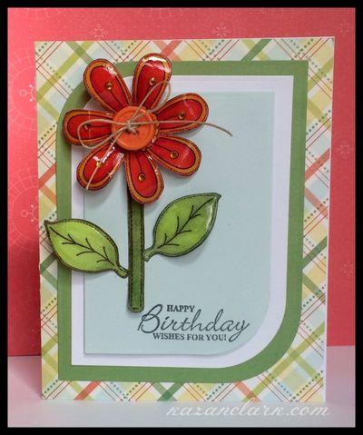 FlowerbirthdaycardwithglazeKazanClark