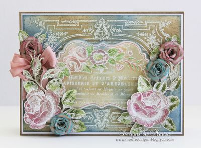 Marisa Job Rose Bouquet
