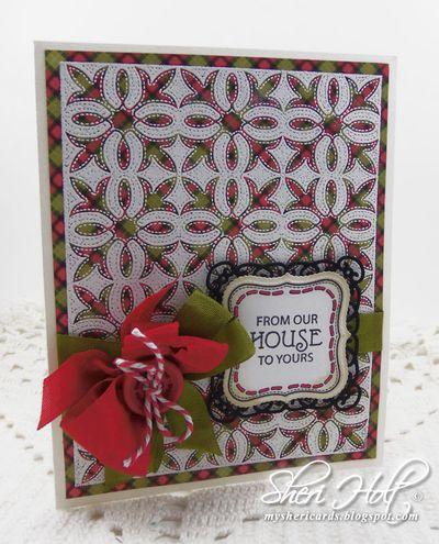 Applique Christmas Sheri Holt
