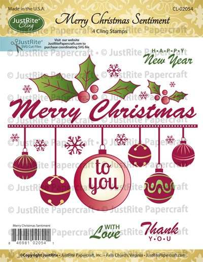 CL-02054_Merry_Christmas_Sentiment_Cling_Stamps_LG
