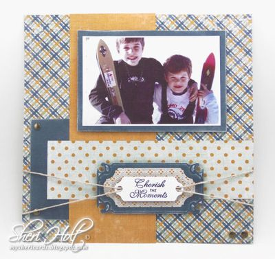 Sheri Holt Celenbrations Scrap Book Page