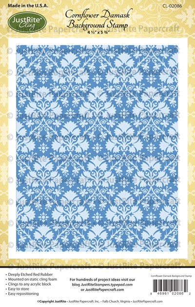 CL-02086_Cornflower_Damask_Cling_Background_Stamp_LG