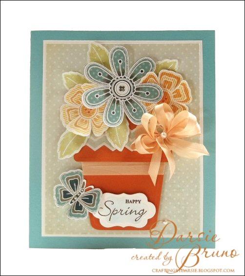 Stitched Flowers Darsie Bruno