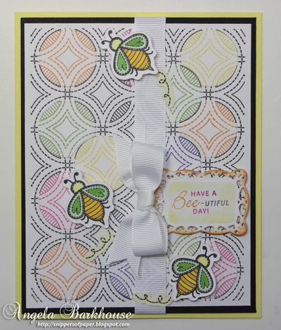 Angela Barkhouse Quilted Circles