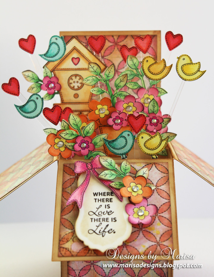 Home Tweet Home Card Box Marisa Job Photo #3